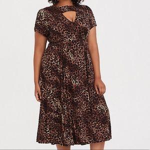 Torrid Cheetah Dress